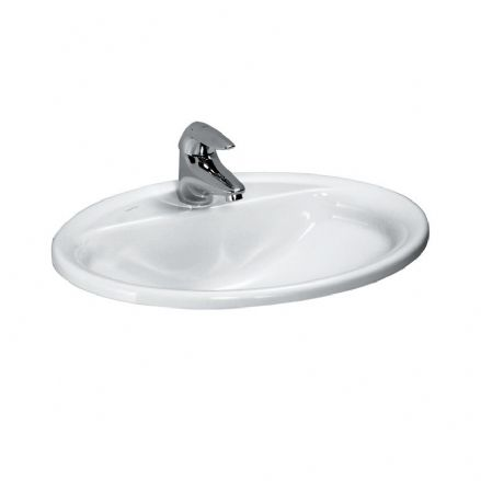 813951 - Laufen Pro 560mm x 440mm Drop-in Washbasin - 8.1395.1